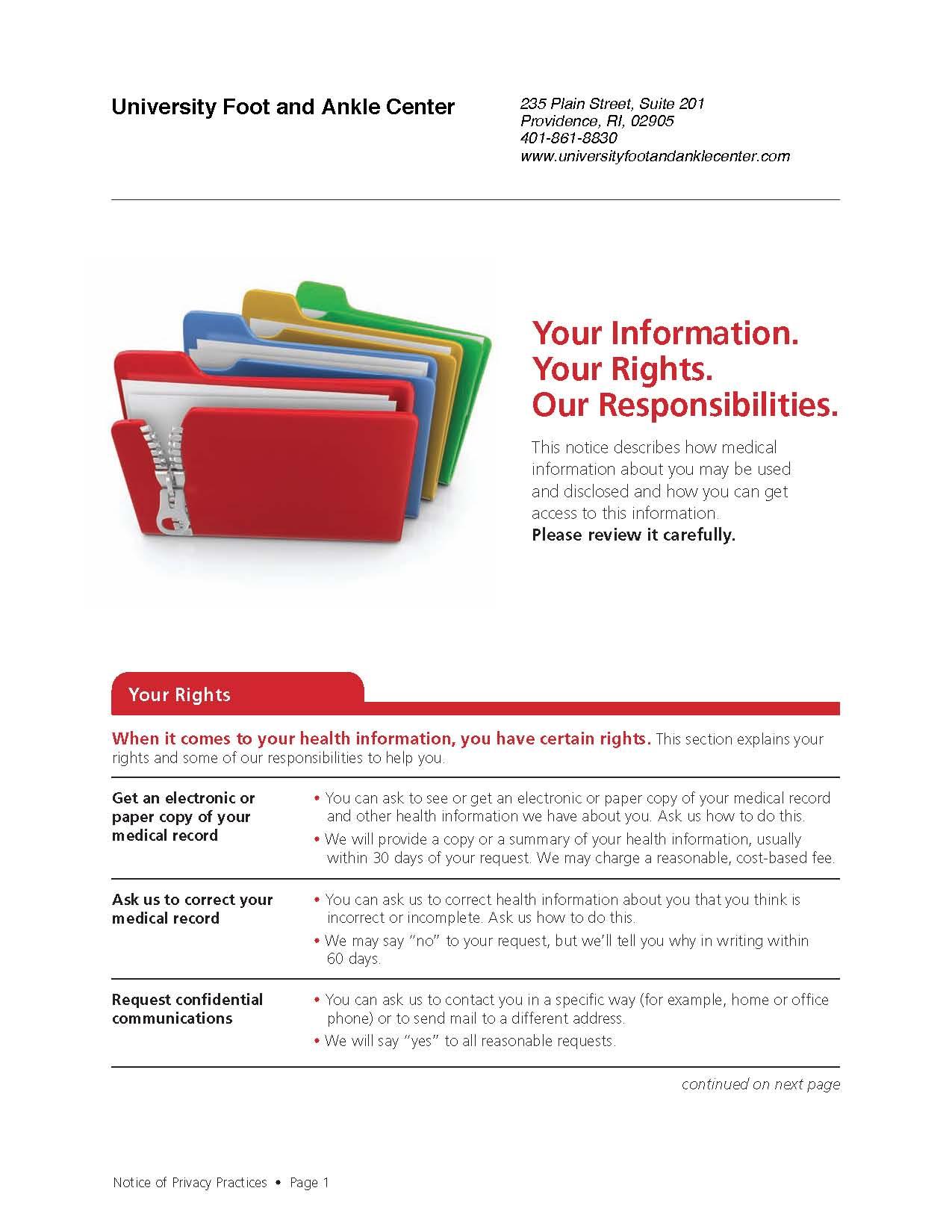 UFAAC HIPAA Doc pg 1