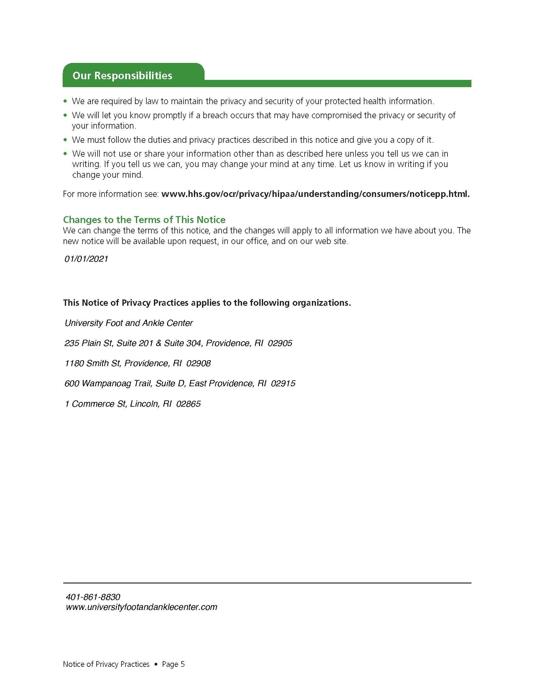 UFAAC HIPAA Doc pg 5